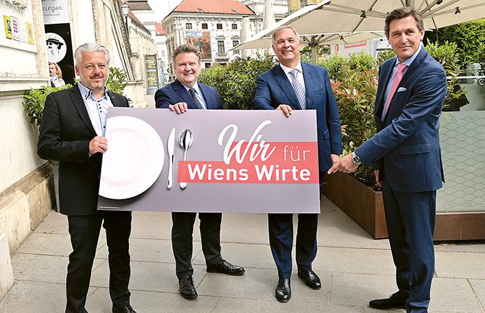 Wiederer ∂ffnung der Wiener Gastronomie