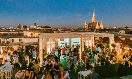 Organics Sky Garden über den Dächern von Wien