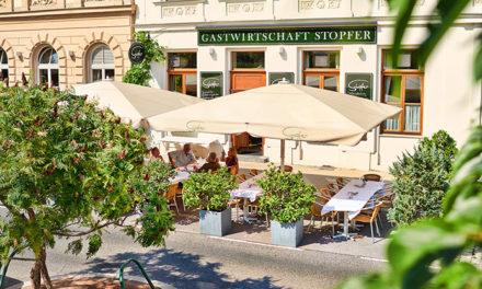Gastwirtschaft Stopfer Kulinarische Oase am Rudolfsplatz