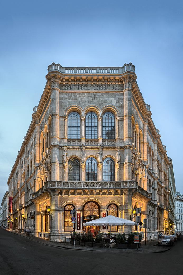 Cafe central Architektur 2013