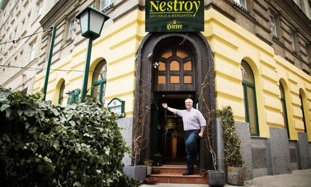Gasthaus Nestroy in der Leopoldstadt