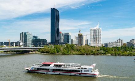 Die DDSG Blue Danube nimmt wieder fahrt auf