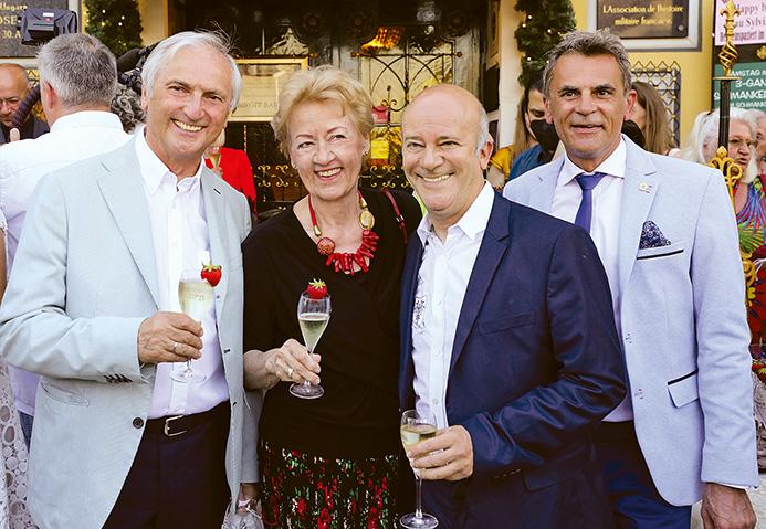 Vize-Honorarkonsulin Prof. Birgit Sarata feiert ihren Geburtstag im Marchfelderhof am 28.06.2021