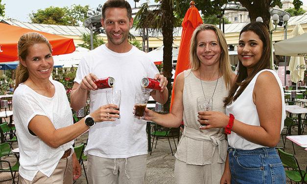 Bühne frei für das neue Coca – Cola Zero