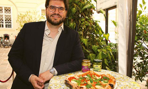 Pizza á la Starkoch Puck in der Regina Margherita