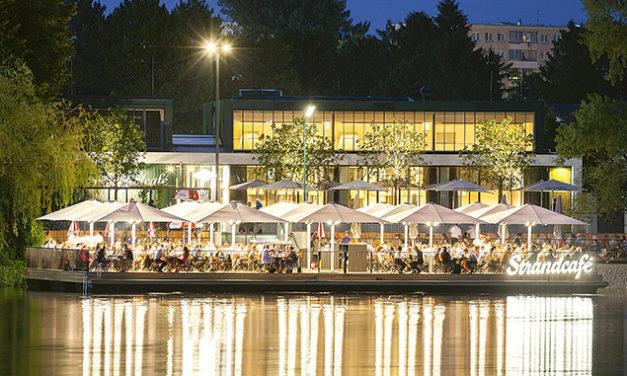 Strandcafé an der Alten Donau