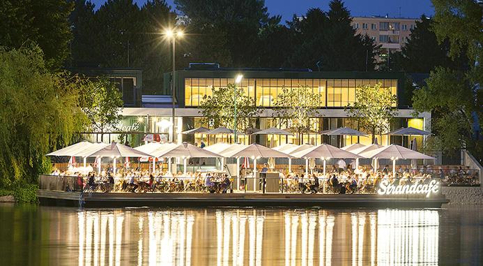 Strandcafe, Vienna by Arch. Marku