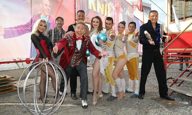 """,,Manege frei"""" für den Circus Louis Knie"""