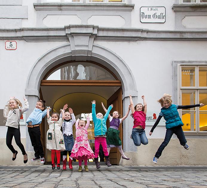 Imagefotos Mozarthaus Kinder